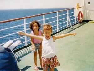 Τα παιδιά μου όταν ήταν 5 και 6 χρονών